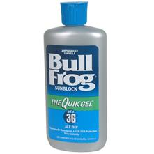 photo: BullFrog QuikGel SPF 36 sunscreen