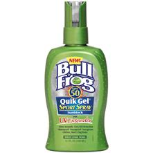 BullFrog Quik Gel Sport Spray SPF 50