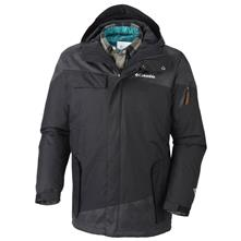 photo: Columbia Hells Mountain Interchange Jacket component (3-in-1) jacket