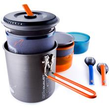 photo: GSI Outdoors Halulite Microdualist Cookset