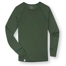 photo: Ibex Men's Woolies Crew Stripe