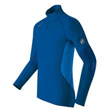 photo: Mammut Men's All-Year Zip Longsleeve base layer top