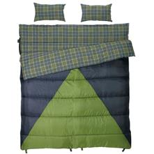 photo: Slumberjack Bonnie & Clyde 40°F / 30°F warm weather synthetic sleeping bag