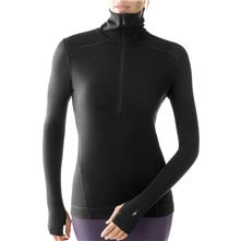 photo: Smartwool Men's Midweight Funnel Zip base layer top