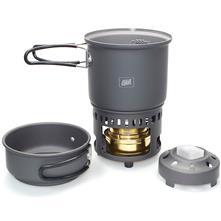 Esbit Alcohol Stove & Trekking Cookset CS985HA