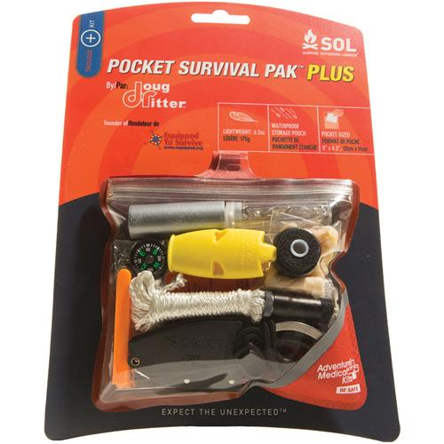 Adventure Medical Kits Pocket Survival Pak Plus