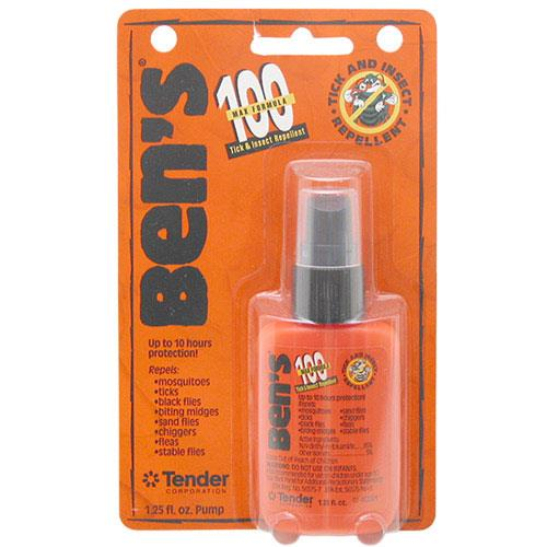 Tender Ben's 100 Max Deet Tick & Insect Repellent