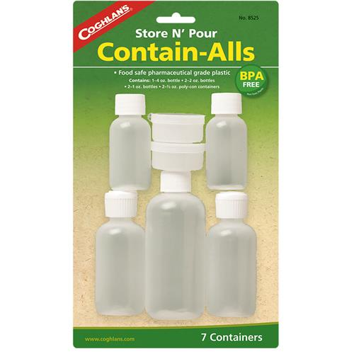 photo: Coghlan's Store 'N Pour Contain-Alls storage container