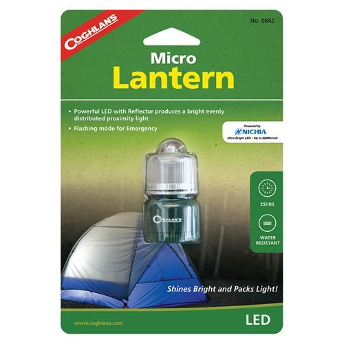 photo: Coghlan's LED Micro Lantern battery-powered lantern