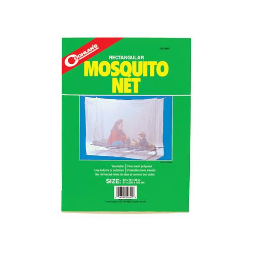 Coghlan's Rectangular Mosquito Net - Double White