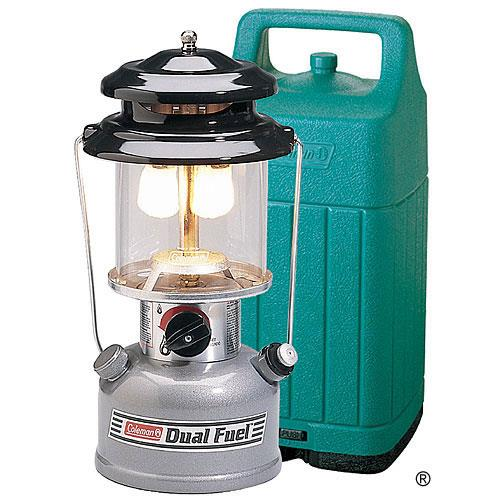 coleman premium 2 mantle adjustable dual fuel lantern w