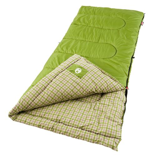 photo: Coleman Green Valley 30 3-season synthetic sleeping bag