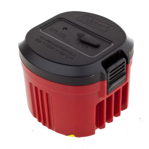 Coleman 6V CPX Rechargeable Battery Pack with 12V and 120V Chargers