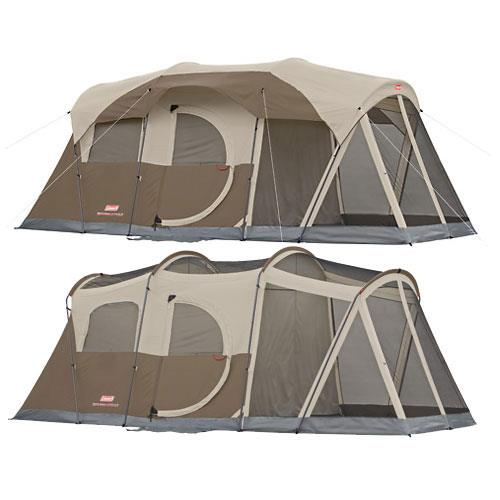 photo: Coleman WeatherMaster 6 Screened Tent tent/shelter