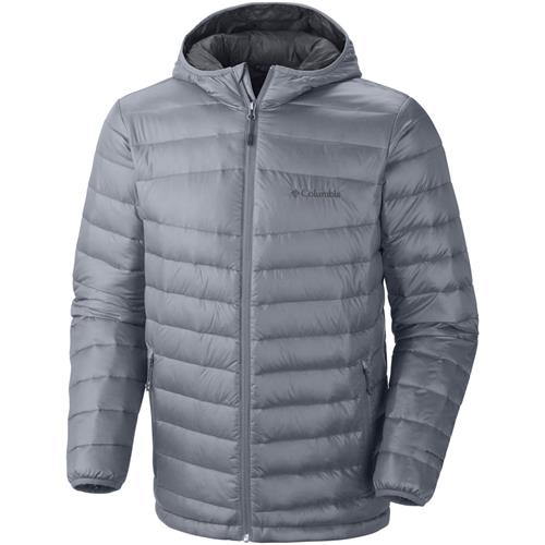 Columbia Platinum 860 TurboDown Hooded Down Jacket
