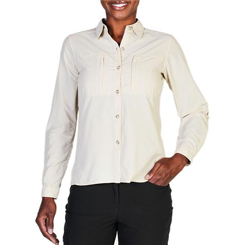 photo: ExOfficio Dryflylite Long Sleeve Shirt hiking shirt