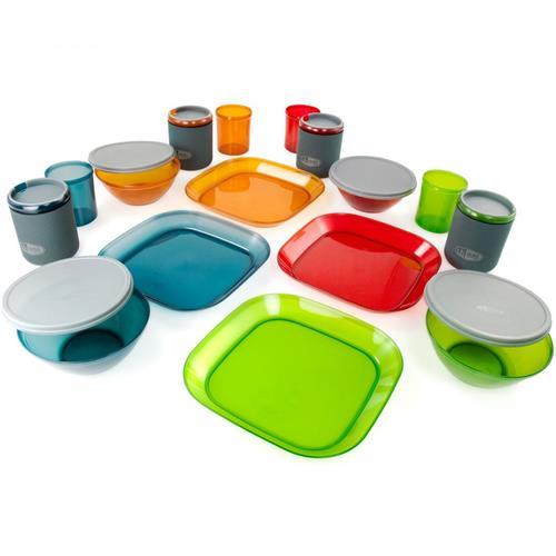 photo: GSI Outdoors Infinity 4 Person Deluxe Table Set plate/bowl