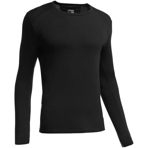 photo: Icebreaker Men's Tech Top Long Sleeve Crewe base layer top