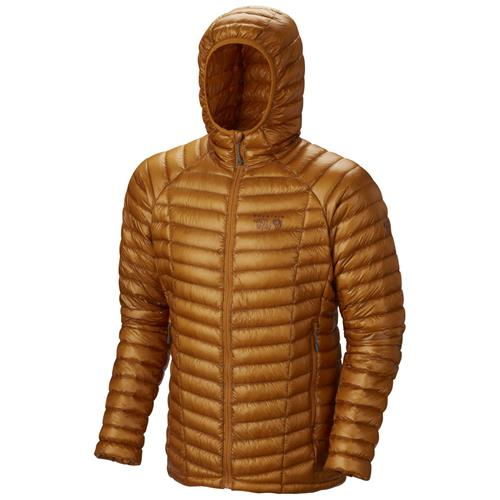 photo: Mountain Hardwear Men's Ghost Whisperer Hooded Down Jacket down insulated jacket