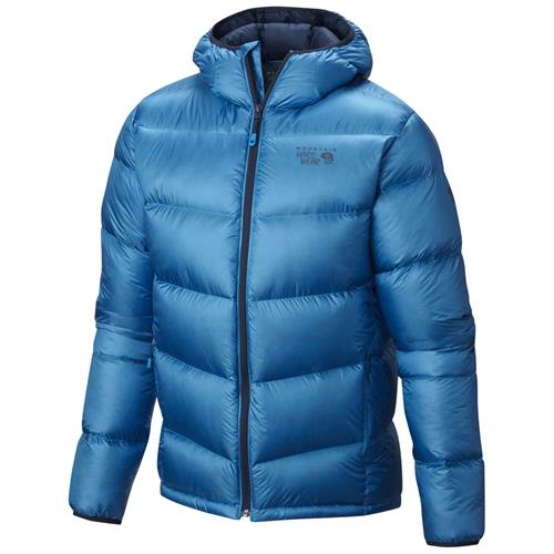 photo: Mountain Hardwear Men's Kelvinator Hooded Jacket down insulated jacket