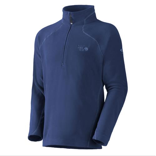 photo: Mountain Hardwear Men's MicroChill Zip T fleece top
