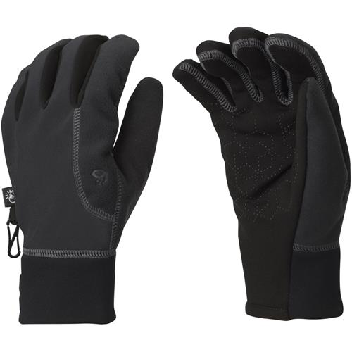 photo: Mountain Hardwear Men's Momentum Running Glove soft shell glove/mitten