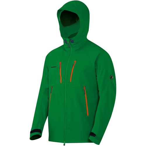 photo: Mammut Ultimate Hoody soft shell jacket