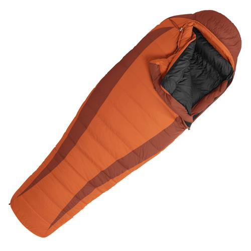 photo: Marmot Ouray 3-season down sleeping bag