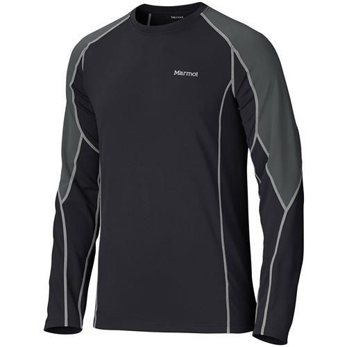 photo: Marmot Men's ThermalClime Pro LS Crew base layer top
