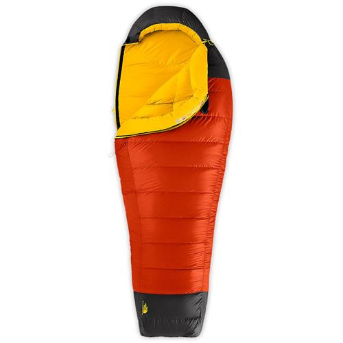 photo: The North Face Gold Kazoo 3-season down sleeping bag