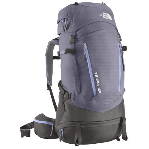 photo: The North Face Women's Terra 55 weekend pack (3,000 - 4,499 cu in)