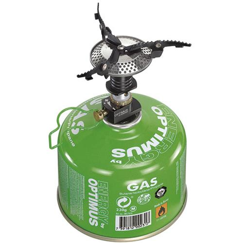 photo: Optimus Crux compressed fuel canister stove