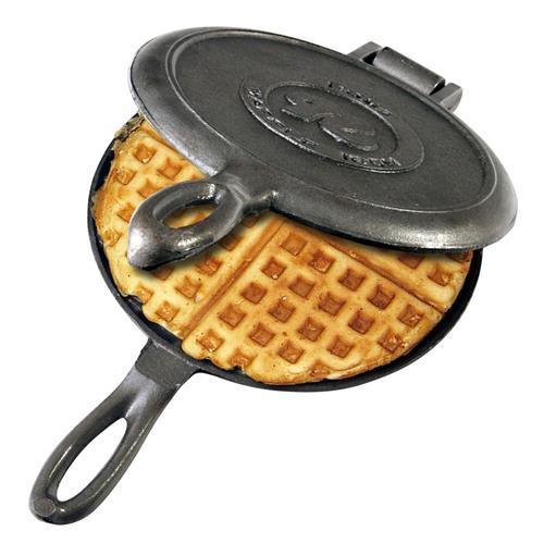 Rome Old Fashioned Waffle Iron Cast Iron