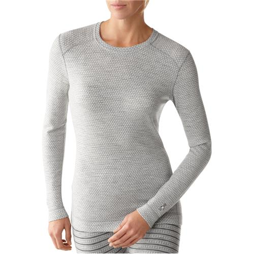 photo: Smartwool Women's Midweight Pattern Crew base layer top