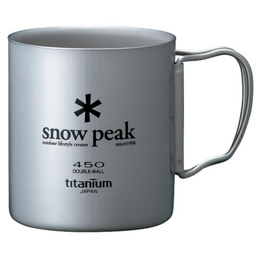 Snow Peak Ti-Double 450 Cup