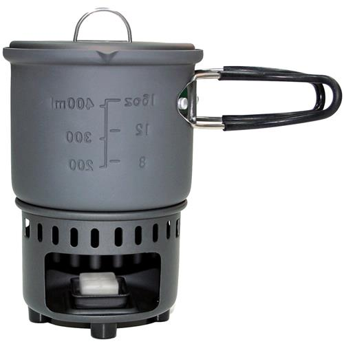 photo: Esbit Solid Fuel Stove & Cookset CS585HA solid fuel stove