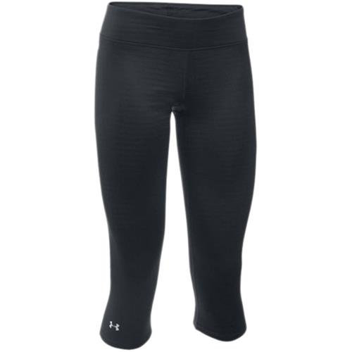 Under Armour UA Base 20 3/4 Legging for Women, Black/Glacier Gray