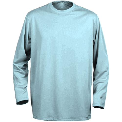 white-sierra-bug-free-long-sleeve-tee-for-youth-heather-grey-small